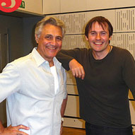 With friend and fellow Beethoven nut, John Suchet